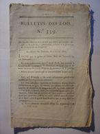 BULLETIN DES LOIS 23 JANVIER 1820 - ARMEE MILITAIRE COMPAGNIES DE DISCIPLINE - COUR ROYALE PARIS - HOSPICES DE PARIS - Décrets & Lois