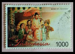 110. INDONESIA USED STAMP GORONTALO . - Indonesia