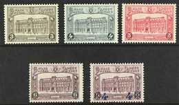 PARCEL POST  1929-30 G.P.O. Brussels Complete Set, Plus 1933 4f On 6f Purple Surcharge (Michel 3/7, SG B526/29 & B645, C - Bélgica
