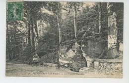 PLOMBIERES LES BAINS - La Fontaine Stanislas - Plombieres Les Bains