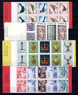 Zweden: 1970-1971 - Diverse Boekjes Postfris / Various Booklets MNH - Carnets
