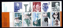 Zweden: 1972-1973 - Verschillende Boekjes Postfris / Various Booklets MNH - Carnets