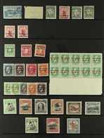 PENRHYN  1902-29 Fine Mint Ranges, Incl. 1902 2½d, 1914-15 Set, 1917-20 Set, 1920 And 1927-29 Pictorial Sets. (39 Stamps - Cook Islands