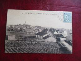 CPA 44 LES MOUTIERS EN RETZ VUE GÉNÉRALE DU BOURG - Les Moutiers-en-Retz