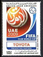 Emirats UAE United Arab Emirates 0954 Coupe Du Monde Des Clubs FIFA , Football, Toyota Automobile - Football