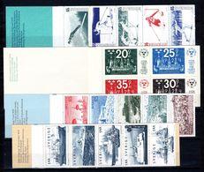 Zweden: 1974 - Verschillende Boekjes Postfris / Various Booklets MNH - Carnets