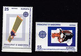 & Andorre Espagnol 211 / 212  .. Europa CEPT 1991 .. Espace Satellite** MNH ... Cote YT 2020 = 1.50 € - Europa-CEPT
