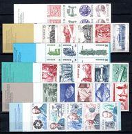 Zweden: 1975-1976 - Verschillende Boekjes Postfris / Various Booklets MNH - Carnets