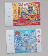 Ierland-Ireland 2020 Capital Of Europe Rijeka-Galway - Idées Européennes