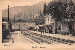 CPA VOLX - La Gare - Autres Communes