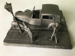 Tin - Etain - Zinn - Franklin Mint Fine Pewter - The 1937 Rolls-Royce Phantom III -  By Raymond Meyer - 1976 - Etains
