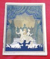 """Programme Théâtre Opéra Comique 1926 """"La Lépreuse"""" Henry Bataille Madeleine Sibille,Alice Raveau Lucy Perelli Azéma - Programme"""