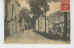 PLOMBIERES LES BAINS - Vue Des Villas - Avenue De Lorraine - Plombieres Les Bains