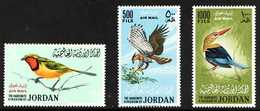1964  Air Birds Complete Set, SG 627/629, Never Hinged Mint, Fresh. (3 Stamps) For More Images, Please Visit Http://www. - Jordania