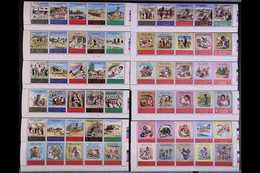 1969  Tragedy Of The Refugees And Tragedy In The Holy Lands Sets Complete, SG 853/882, 883/914, In Never Hinged Mint Se- - Jordania