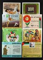 1977-1999 MINIATURE SHEETS.  COMPREHENSIVE NEVER HINGED MINT COLLECTION On Stock Pages, All Different, Seems To Be COMPL - Jordania