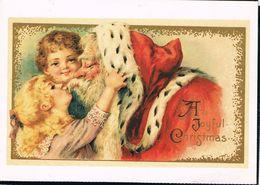 Père Noël - Kerstman En Kindjes - Santa Claus