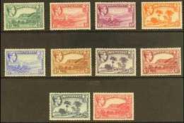 1938  Pictorials Original Set Perf 13, SG 101/110, Very Fine Mint, Fresh. (10 Stamps) For More Images, Please Visit Http - Montserrat