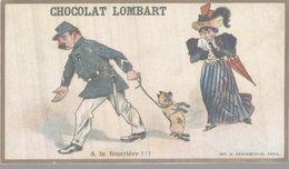 CHROMO CHOCOLAT LOMBART A LA FOURRIERE ! ! ! - Chocolat