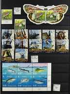 1995-2012 COMPLETE NEVER HINGED MINT COLLECTION  A Most Attractive & Valuable, ALL DIFFERENT Collection Of Sets & Miniat - Stamps