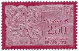 Métiers D'art. La Dentelle Yvert & Tellier N°2631 - France