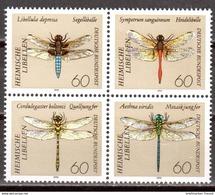 Bund 1991 Mi. 1546-1549 ** Viererblock Postfrisch (br2296) - Ungebraucht