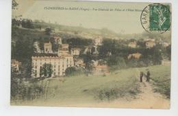 PLOMBIERES LES BAINS - Vue Générale Des Villas Et L'Hôtel METROPOLE - Plombieres Les Bains