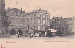 481784Amsterdam,Weesperplein Met Brandweer Kazerne Rond 1900. - Amsterdam
