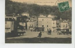 PLOMBIERES LES BAINS - La Place De L'Eglise - Plombieres Les Bains