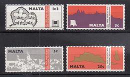 & Malte 509 / 512  .. Europa CEPT1975 .. Sans Charniere** MNH .. Cote 2020 = 6.00 € .. - Europa-CEPT