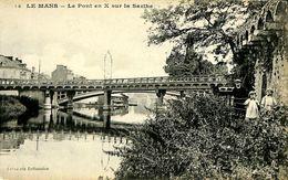 029 601 - CPA - France (72) Sarthe - Le Mans - Le Pont X - Le Mans
