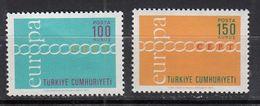 & Turquie 1981 / 1982  .. Europa CEPT1971 .. Sans Charniere** MNH .. Cote 2020 = 3.00 € .. - Europa-CEPT