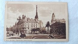 Argentina Buenos Aires Plaza De Mayo Carte Postale Postcard #14 - Argentine