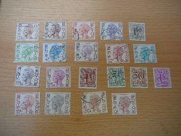 (07.06) BELGIE Dienstzegels - Servicio