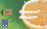 FINLAND - Euro Logo, Fin Telecard 10 Euro, Tirage 20000, 02/02, Used - Finlande