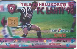 "FINLAND - FC LAHTI ""98, Tirage 5000, 04/98, Used - Finlande"