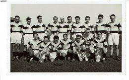 LYON -CARTE PHOTO -  Equipe De Rugby De La Base De Lyon 1940 - 41   ( Rare ) -  VOIR SCANS - Other