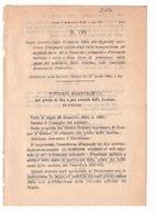 1923 Regio Decreto - Pensioni Ordinarie Militari Civili Dello Stato - Ministero Agricoltura - Décrets & Lois