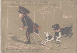 CHROMO AU NOUVEAU PARIS  NE VOULANT PLUS DE NEZ QUI L'A TANT TOURMENTE... - Chromos