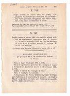 1923 Regio Decreto - Cassa Di Risparmio Di UDINE - Banca - Chimica Carburo Di Calcio Acetilene - Décrets & Lois