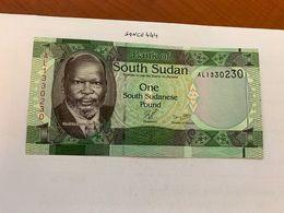 Sudan 1 Pound  Uncirc. Banknote 2015 - Soedan