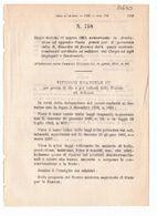 1923 Regio Decreto - Fondo Premi Personale REGIA GUARDIA DI FINANZA - Décrets & Lois