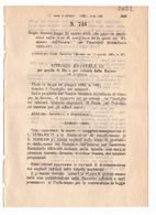 1923 Regio Decreto - Variazione Previsione Spesa - Décrets & Lois