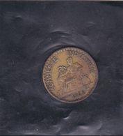 COMMERCE INDUSTRIEL, Bon Pour 1fr De 1922, Chambres De Commerce De France. Avoir - Monétaires / De Nécessité