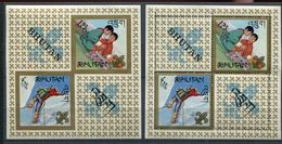 Bhoutan ** Bloc 5 Dent Et ND - - Bhoutan