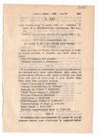 1923 Regio Decreto - Spesa Costruzioni Ferroviarie - Ferrovia Treno - Comune ROMA Piano Regolatore - Edilizia - Décrets & Lois