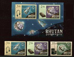 Bhoutan ** Bloc 4  - 60 à 62 - Union Des Télécom - Bhoutan