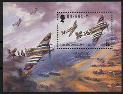 GUERNESEY - 2EME GUERRE MONDIALE - DEBARQUEMENT ALLIE EN NORMANDIE - BF 26 - NEUF** - Guerre Mondiale (Seconde)