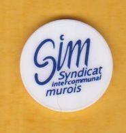 Jeton De Caddie En Plastique - Syndicat Intercommunal Murois (69) - Jetons De Caddies