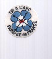 REF 10 : Écusson Patch  Tissus  Thème Tir à L'arc Paris Ile De France - Ecussons Tissu
